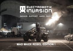 ELECTROBOTIK INVASION INDOOR SUPPORT PARTY
