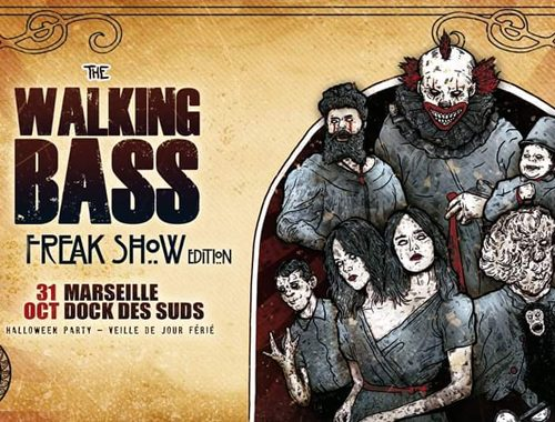 THE WALKING BASS FESTIVAL : FREAK SHOW EDITION